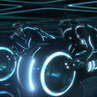 Tron: Legacy - photos, ladies and lightcycles - photo 20