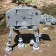 Star Wars AT-AT Imperial Walker made from recycled computer parts for sale - photo 3