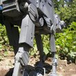 Star Wars AT-AT Imperial Walker made from recycled computer parts for sale - photo 6