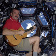 Astronaut beams song from International Space Station to Earth - photo 2
