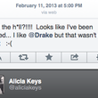 BlackBerry Creative Director Alicia Keys tweets from her iPhone - photo 3