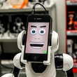 WowWee RoboMe: iPhone controlled robot that lets you call home - photo 1