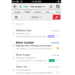 Google brings iOS app-like design to its mobile Gmail interface - photo 2
