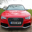 Audi RS5 Cabriolet pictures and hands-on - photo 1