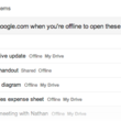 Google Drive gains auto offline file saving, new collaboration tools - photo 2