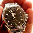 Omega Seamaster Aqua Terra anti-magnetic watch stops time for no-one - photo 4