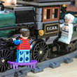 Lego Back To The Future + Lone Ranger Constitution Train Chase = BTTF III gold - photo 19