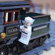 Lego Back To The Future + Lone Ranger Constitution Train Chase = BTTF III gold - photo 23