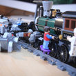 Lego Back To The Future + Lone Ranger Constitution Train Chase = BTTF III gold - photo 25