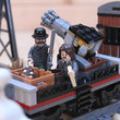Lego Back To The Future + Lone Ranger Constitution Train Chase = BTTF III gold - photo 36