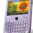 Carphone details BlackBerry Curve 8520 in violet - photo 1