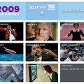 "Yahoo unveils 2009 ""Year in Review"""