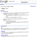 Google rolls out dictionary functionality