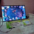 21-inch capacitive touch panel built