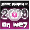 We7 reveals most played songs and artists of 2009