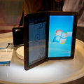 MSI dual screen notebook tablet concept demoed