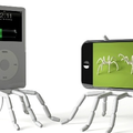 Spiderpodium iPod stand unveiled