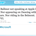 Rumour smashed: Steve Ballmer not speaking at Apple WWDC