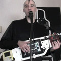 World's first (and only) iPad guitar DJ frame thingmy