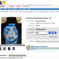 """Facebook """"cult"""" hoodie, as seen on CEO Zuckerberg, up for sale"""