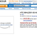HTC Desire HD gets 15 minutes of Amazon fame
