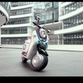 Mini Scooter E concept that needs an iPhone to start it