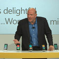 Steve Ballmer launches Windows Phone 7 - Dell joins party