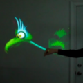 VIDEO: Hacked Kinect virtual puppet show