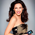 LG uncovers Kelly Brook as the face of the Optimus One