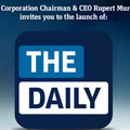 The Daily iPad digital newspaper to launch 2 February
