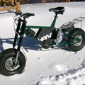 Offroad's snow problem with Fortune Hanebrink electric bike