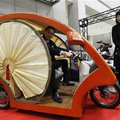 Rickshaw rides into the future with electric makeover