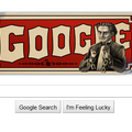 Google Doodle says happy birthday Harry Houdini