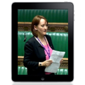Labour MP delivers first ever iPad Commons speech