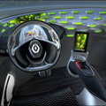 Renault Frendzy concept features built in BlackBerry PlayBook