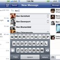 Facebook Messenger pips Apple iMessage to the post