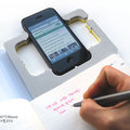 Smart Phone Note: For all your iPhone 4 case / notepad needs