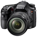 Sony unleashes a pair of new cameras for its Alpha range - the A77 and A65