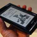 Sony Reader Wi-Fi pictures and hands-on