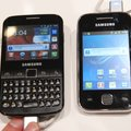 Samsung Galaxy Y and Y Pro pictures and hands-on