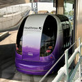 Taking a ride on Heathrow's ULTra Personal Rapid Transit System