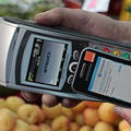 Samsung Wave 578 NFC action with Orange and Barclaycard