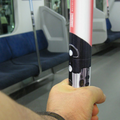 Star Wars lightsaber lights up on Tokyo subway