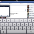 Facebook for iPad goes live