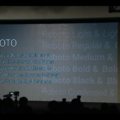 Roboto: The new font for your Android Ice Cream Sandwich smartphone