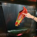 Adidas Virtual Footwear Wall pictures and hands-on