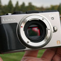 Panasonic Lumix GX1 fuses high-end controls with compact design