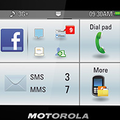 Motorola Motokey Social Facebook friendly phone official