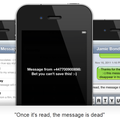 Self-deleting text app MyDestructibleText arrives on iPhone