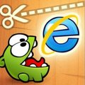 Microsoft gets its IE9 HTML5 game on with Cut the Rope
